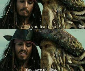 captain jack sparrow, death, and johnny depp image