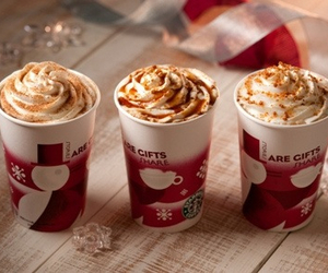 coffee, christmas, and cream image