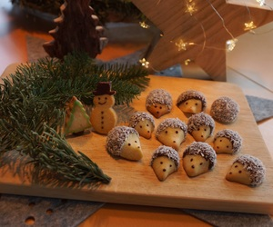 baking, chocolate, and christmas image