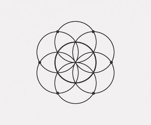 and, black, and geometry image