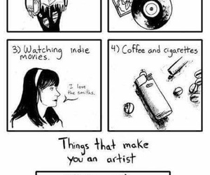 art, artist, and sarah andersen image