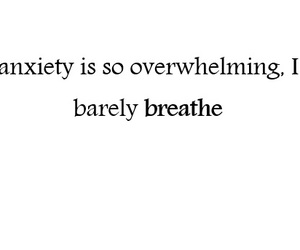 anxiety, breathe, and mental health image