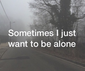 alone, cold, and just image