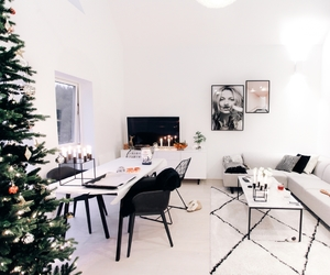 christmas, neutrals, and Scandinavian image