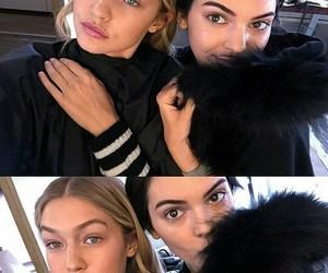 Kendall, gigi, and kengi image
