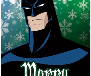 batman, christmas, and superhero christmas image