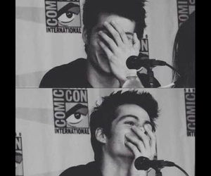 comic con, teen wolf, and dylan o'brien image