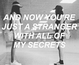 quotes, stranger, and secret image