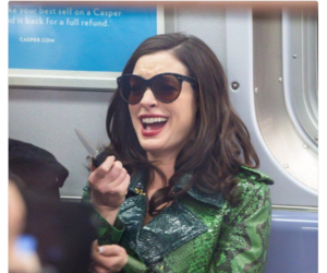 funny, Anne Hathaway, and mood image
