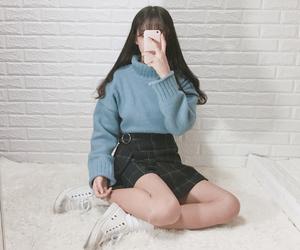 fashion, girl, and kstyle image