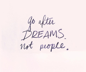 quote, Dream, and pink image