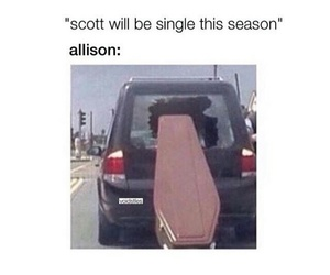 funny, scott mccall, and allison argent image