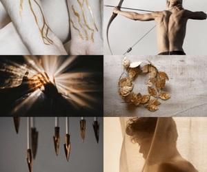 aesthetic, greek mythology, and apollo image
