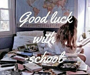 school, book, and motivation image