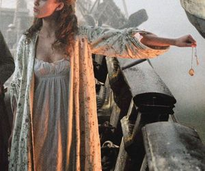 keira knightley, elizabeth swann, and pirate image