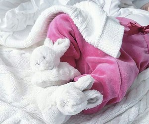 baby, so cute, and bunny image