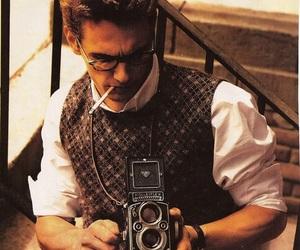 james franco, camera, and vintage image