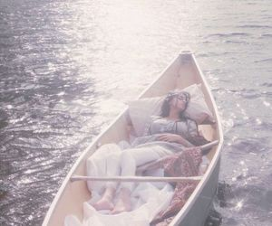 boat, sleep, and water image