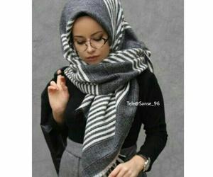 girls, hijab style, and محجبات image