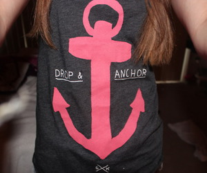 anchor, girl, and photography image
