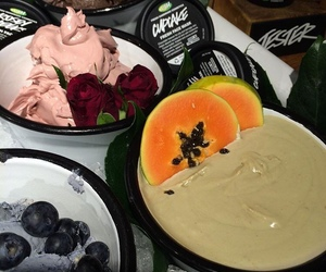 lush and products image
