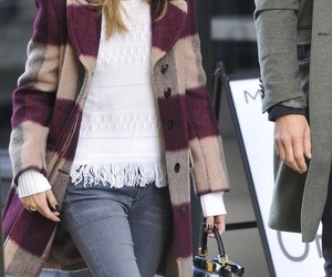 model, olivia palermo, and nyc image