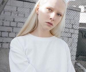 aesthetic, albino, and alternative image