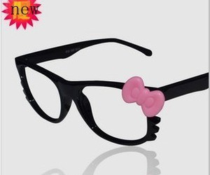 hello kitty pink glasses image