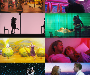lalaland, color, and dreams image