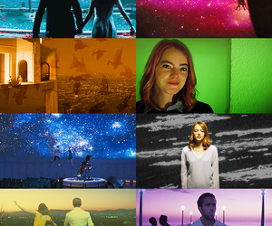 cinema, colours, and emma stone image