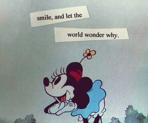 smile, quotes, and disney image