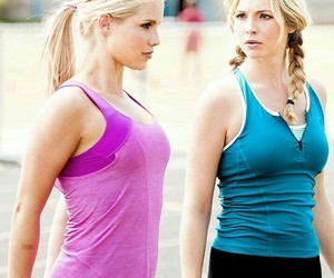 the vampire diaries, caroline forbs, and rebekah mikaelson image