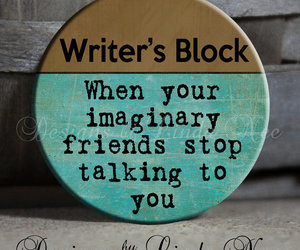 funny, imagine, and writers block image