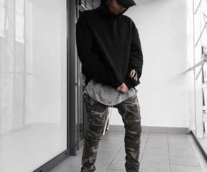 adidas, black, and dope image