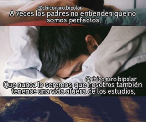 frases, triste, and padres image