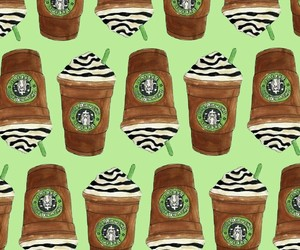 pattern and starbucks image