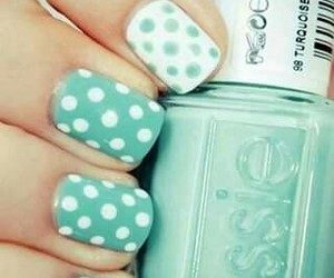 blanco, nails, and nailart image