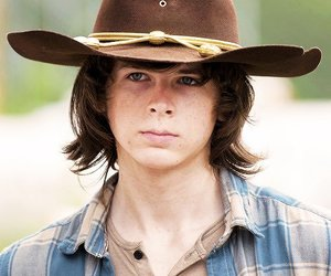 twd, the walking dead, and carl grimes image