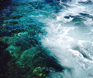 ocean, summer, and blue image