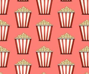 popcorn, background, and pattern image