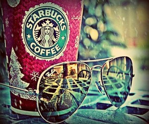 coffee, designs, and sunglasses image