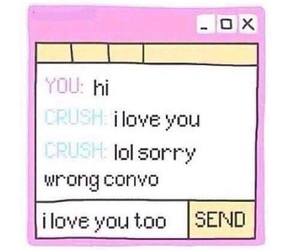 crush, sad, and overlay image