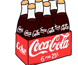 coca cola, overlay, and transparent image