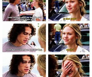 10 things i hate about you, movie, and love image