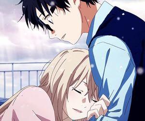 anime, shigatsu wa kimi no uso, and kaori image