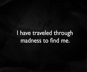 find, madness, and quote image