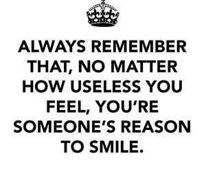 smile, quotes, and remember image
