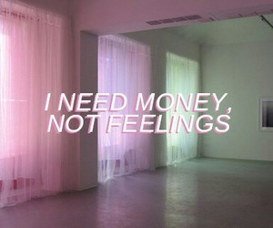 quote, money, and pale image