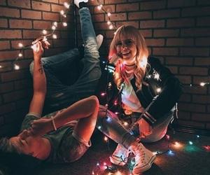 christmas, lights, and tumblr image