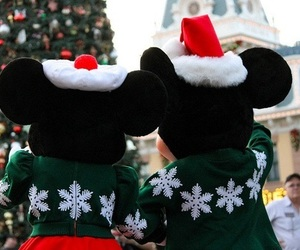 christmas, disney, and winter image
